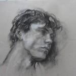 Jean Claude Havas pastel 70x50
