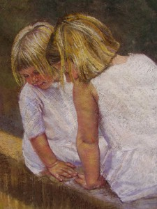 Sisters in White Pastel 48/70