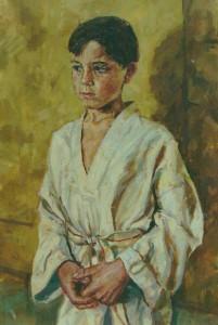 Garcon-en-tenue-de-taikwendo