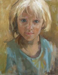 Jessica at seven
