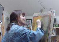 Penelope Milner artiste peintre