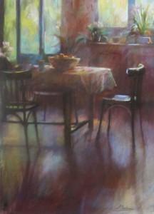 Reflets dans le salon