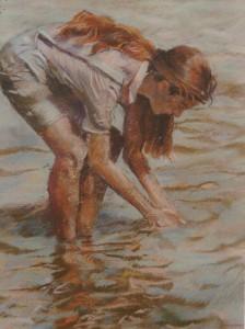 fille-au-lac