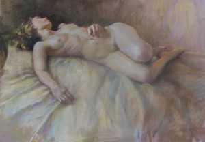 suspended nude