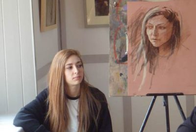 Pastel portrait demonstration