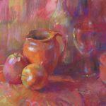 pastel still life