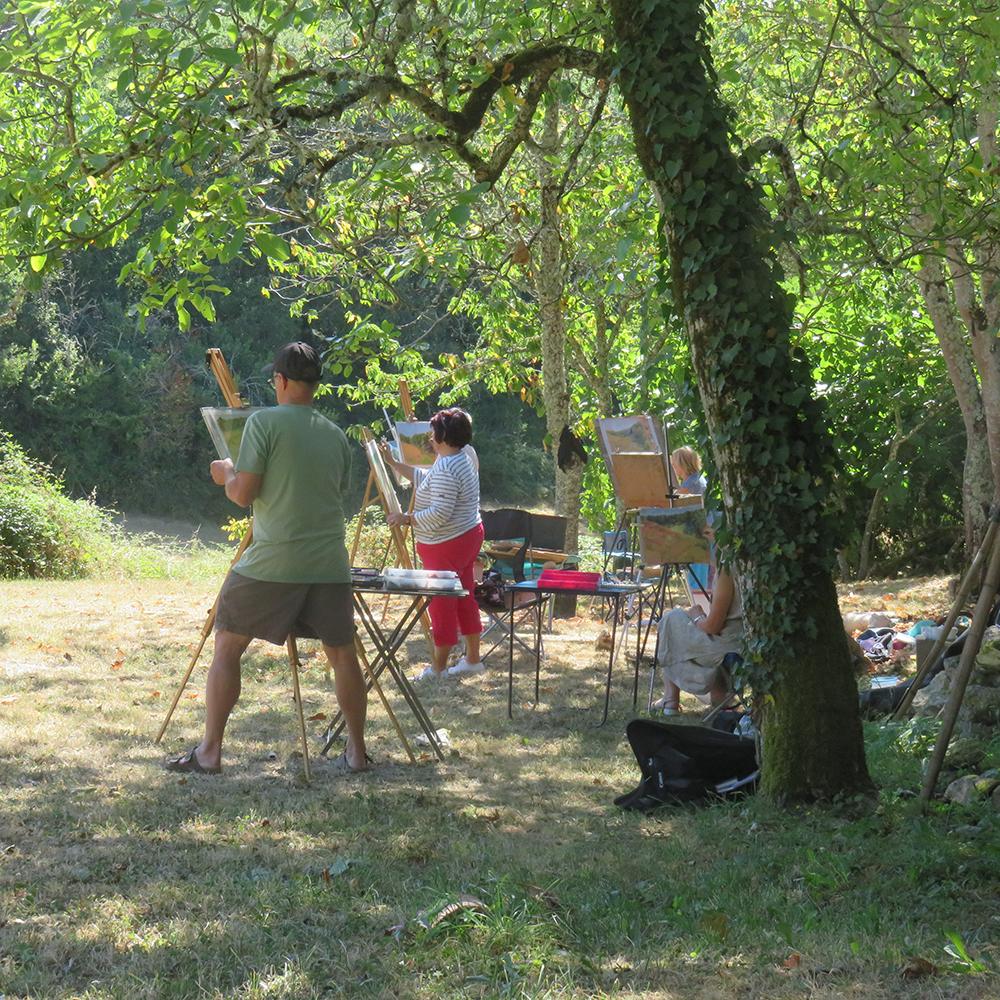 art course midi pyrenees.