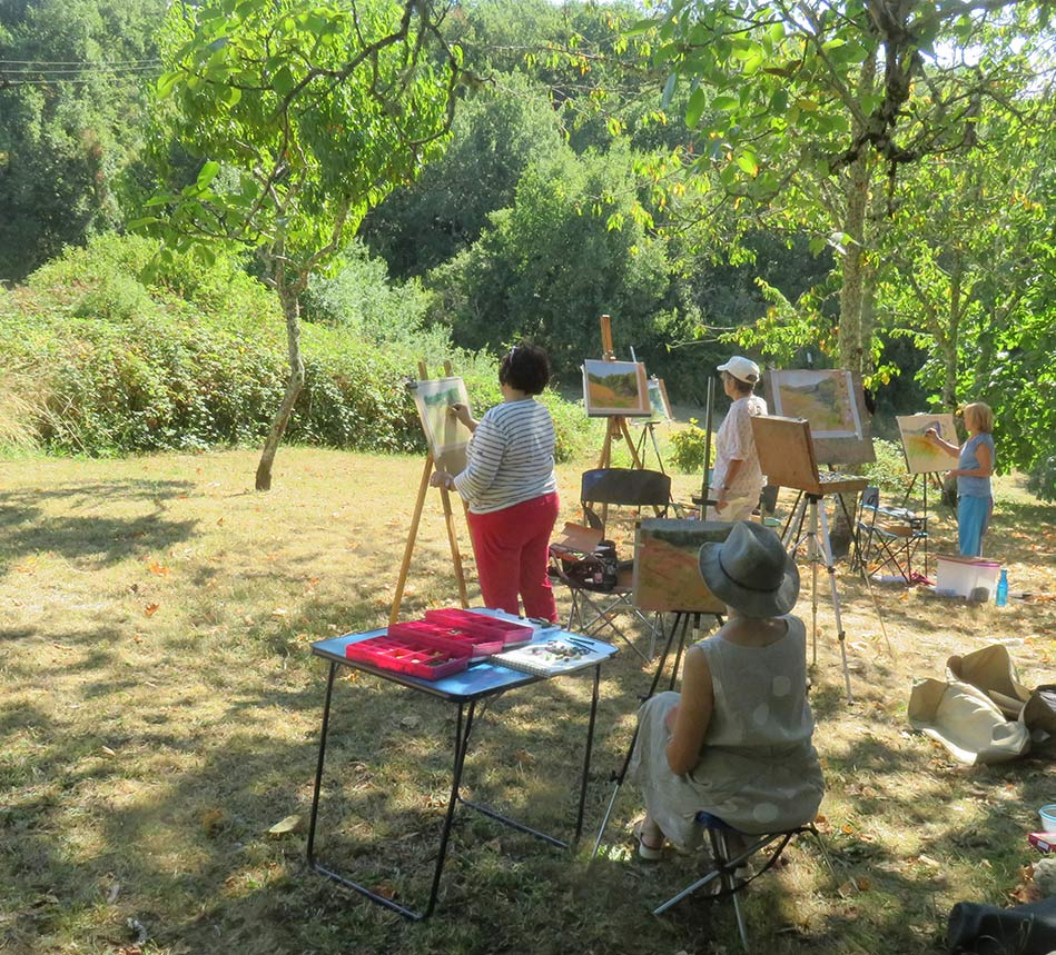 Weekend pastel courses in the Midi Pyrenees