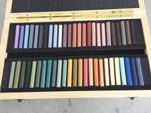 pastels penelope