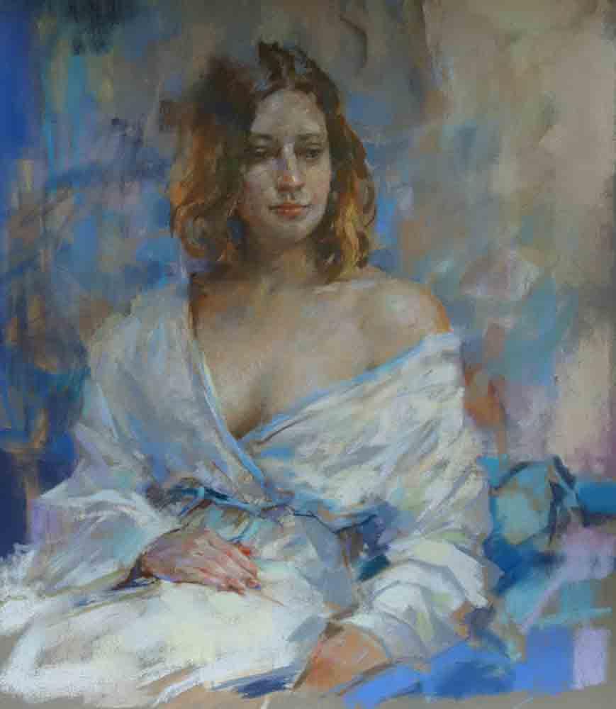 Portrait and figure painting pastel workshop.