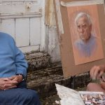 portrait pastel milner