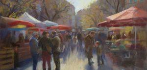 Cahors market. penelope milner