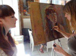 portrait artist cahors